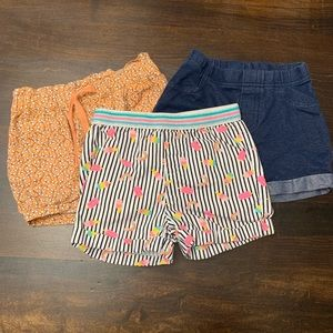 Bundle of Girls Shorts 3T